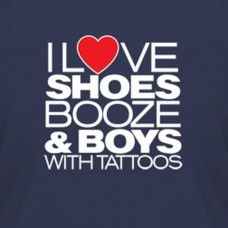I Love Shoes and Booze